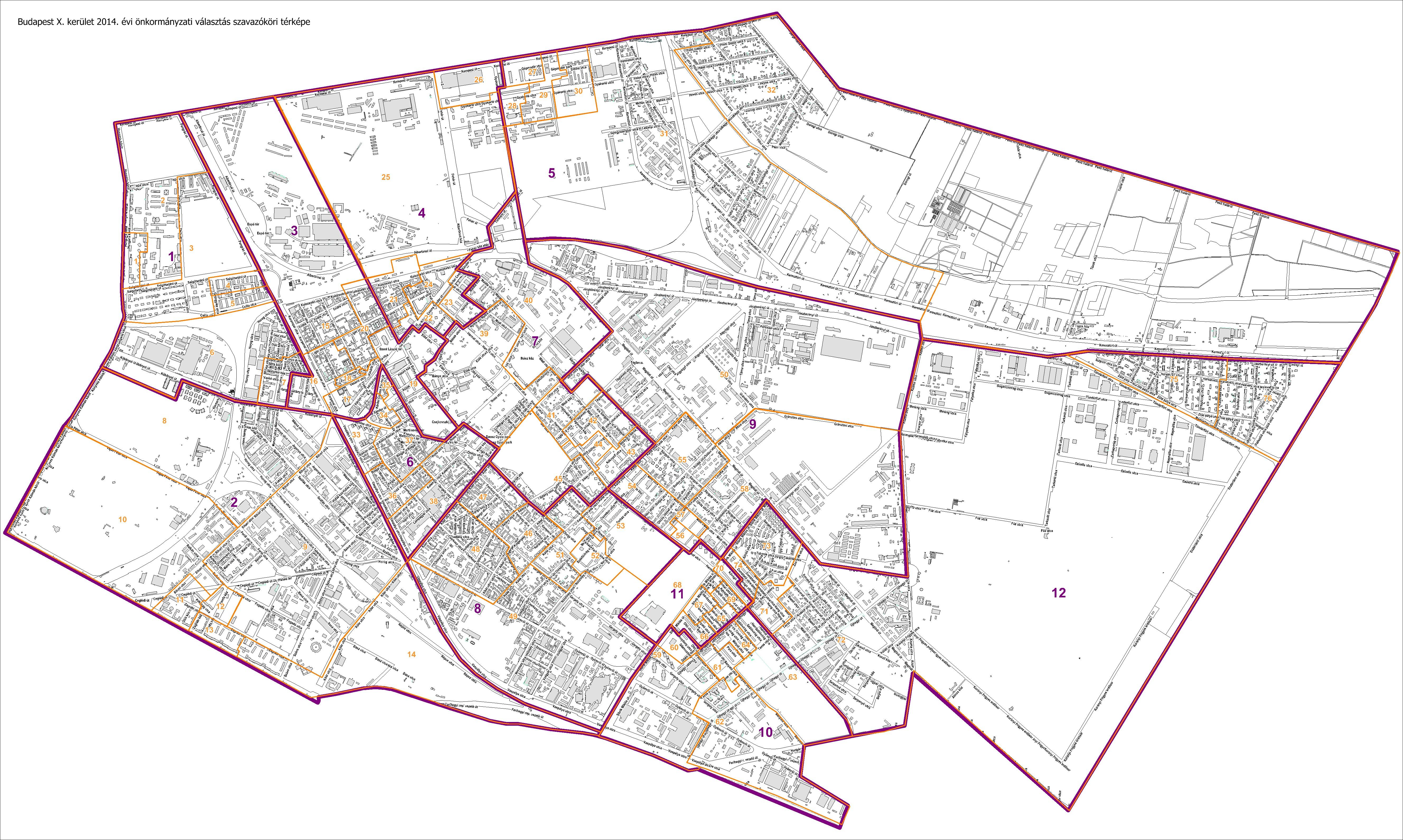 budapest 10 kerület térkép Kőbánya (megint) választ – élő budapest 10 kerület térkép