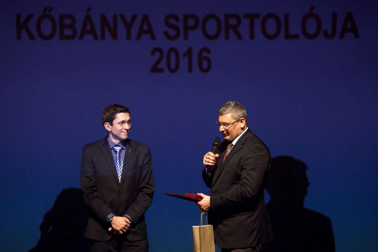 Imre Géza az év kőbányai sportolója